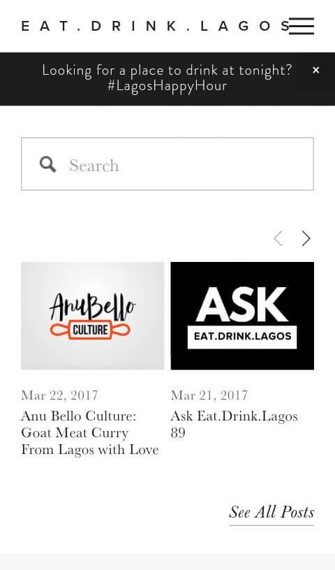 eat.drink.lagos screenshot