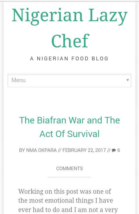 nigerian lazy chef screenshot