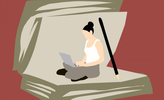 absorbed writer kurating